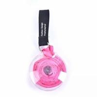 Складная сумка шоппер для покупок (розовый)