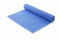 Антискользящий коврик в багажник 80х100 см (синий)