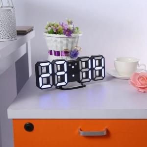 Светодиодные цифровые часы Black оclock