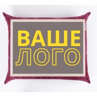 Поднос на подушке с логотипом