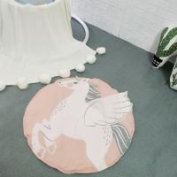 Одеяло коврик в детскую комнату Единорог