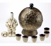Бар глобус - набор керамика