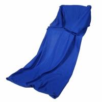 Фото1 Плед с рукавами синий