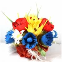 Букет из конфет Полевые цветы