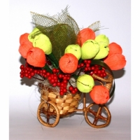 Букет из конфет Волшебный велосипед