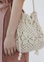 Сумка плетенная mini Soft (Белый)