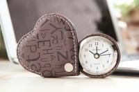 Cердечко будильник Шоколадного Heart Brown