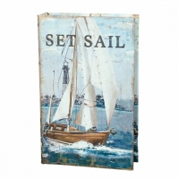Книга сейф Set sail 26 см