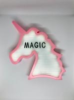 Фото Ночник светильник Единорог Light up message board