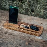 Фото4 Подставка для телефона из дерева Бизнес