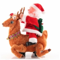 Дед Мороз на Олене