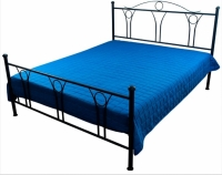 Декоративное покрывало синие 215х240 см