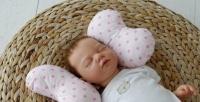 Фото Детская подушка для новорожденных Butterfly Звезды