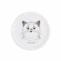 Детская тарелка Милый Котик