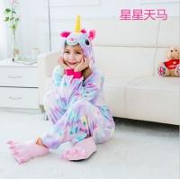 Фото Детское кигуруми Eдинорог (с звездами) 110 см