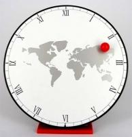 Фото Часы Карта Мира