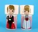 Чашки с пиалами (сладкая парочка) - набор