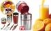 Ручная соковыжималка Pro V Juicer+ шейкер и набор для украшения блюд