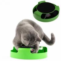 Игрушка для котов с когтеточкой Слови мышку