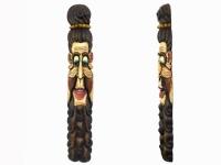 Этническая маска Бхуванеш 150 см слоновая кость