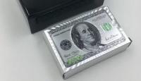 Карты игральные 100 долларов серебро