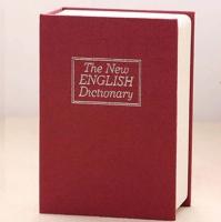 Книга сейф Английский словарь 18 см (Бордовый)