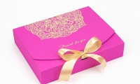 Подарочная коробка Фуксия 25х20х5 см (Розовый)