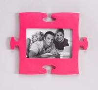 Фоторамка Пазл (Розовый)