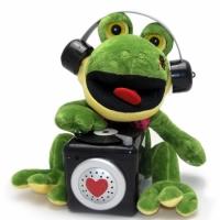 Говорящая Лягушка Диджей Повторюшка