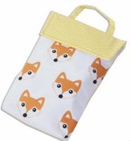 Кармашек для памперсов в детскую сумку Лисички