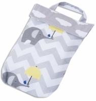 Кармашек для памперсов в детскую сумку Слоники