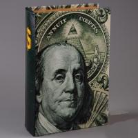 Фото Книга сейф Бенджамин Франклин 26 см