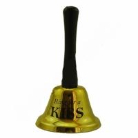 Колокольчик KISS Gold