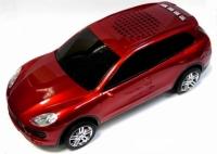 Колонка - Машинка Porsche Cayenne (колонка, плеер mp3, радио) красная