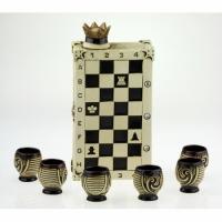 Коньячный набор Шахматы,