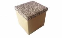 Короб складной многофункциональный с емкостью для хранения Кофейная Клеточка