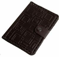 Кожаная Обложка на паспорт Chokolad
