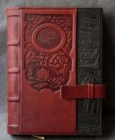 Кожаный Ежедневник А5 Орнамент