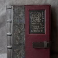 Кожаный Ежедневник А5 С буквы А