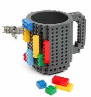 Фото Кружка Lego брендовая 350мл Gray