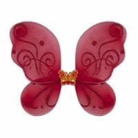 Крылья Бабочки маленькие (красные) 38х29 см