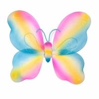 Крылья Бабочки радужные 42х44см