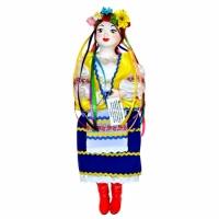 Фото Кукла сувенирная Украиночка синяя