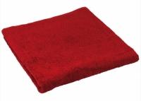 Махровое полотенце бордо 70х140 см
