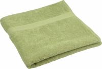 Махровое полотенце оливковое 40х70