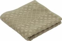 Махровое полотенце ромб 70х140 см