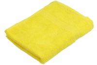 Махровое полотенце желтое 40х70
