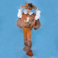 Маскарадный костюм Мушкетер (красный)