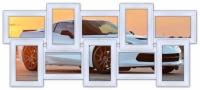 Мультирамка Воспоминания на 10 фото (White)