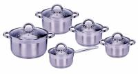 Набор посуды MPM Scarlet 10 предметов
